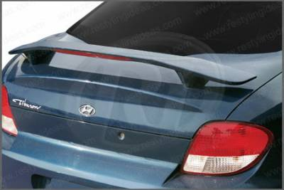 Restyling Ideas - Hyundai Tiburon Restyling Ideas Factory Style Spoiler with LED - 01-HYTI00FL