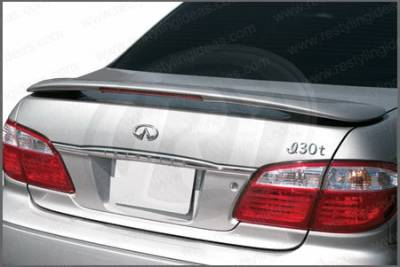 Restyling Ideas - Infiniti I-30 Restyling Ideas Factory Style Spoiler with LED - 01-INI300FL
