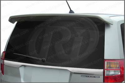 Restyling Ideas - Isuzu Axiom Restyling Ideas Factory Style Spoiler - without Roofrack - 01-ISAX03F