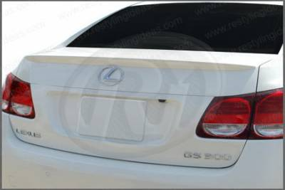 Restyling Ideas - Lexus GS Restyling Ideas Factory Lip Style Spoiler - 01-LEGS06F