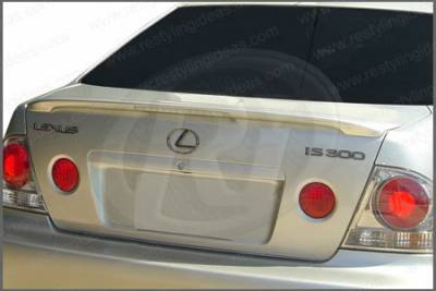 Restyling Ideas - Lexus IS Restyling Ideas Factory Lip Style Spoiler with LED - 01-LEIS02FL
