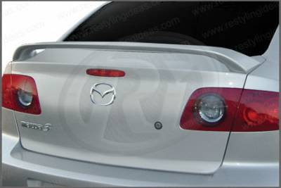Restyling Ideas - Mazda 3 Restyling Ideas Factory 2-Post Style Spoiler - 01-MA304F42P