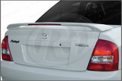 Restyling Ideas - Mazda Protege Restyling Ideas Factory Style Spoiler with LED - 01-MAPR99FL