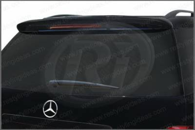 Restyling Ideas - Mercedes-Benz ML Restyling Ideas Factory Style Spoiler - 01-MBML06F