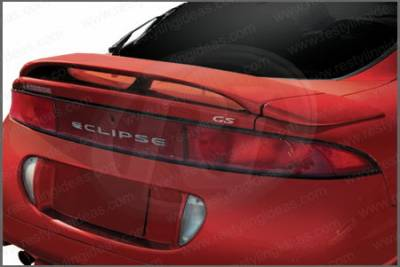 Restyling Ideas - Mitsubishi Eclipse Restyling Ideas Factory Spoiler with LED - 3PC - 01-MIEC95FL