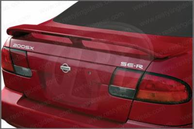 Restyling Ideas - Nissan 200SX Restyling Ideas Factory Style Spoiler with LED - 01-NI2095FL