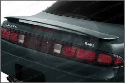 Restyling Ideas - Nissan 240SX Restyling Ideas Factory Style Spoiler - 01-NI2495F