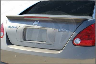 Restyling Ideas - Nissan Maxima Restyling Ideas Factory Flush Mount Spoiler with LED - 01-NIMA07FLML