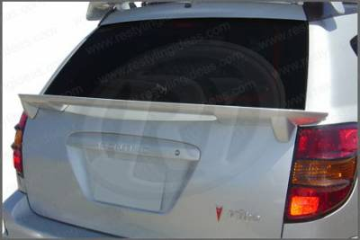 Restyling Ideas - Pontiac Vibe Restyling Ideas Factory Window Mount Spoiler - 01-POVI02FUW