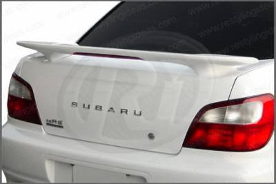 Restyling Ideas - Subaru Impreza Restyling Ideas Factory Style Spoiler with LED - 01-SUIM02FL