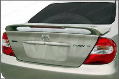 Restyling Ideas - Toyota Camry Restyling Ideas Factory Style Spoiler with LED - 01-TOCA02FL