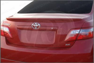 Restyling Ideas - Toyota Camry Restyling Ideas Factory Lip Style Spoiler - 01-TOCA07F