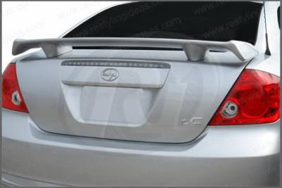 Restyling Ideas - Totota 2005 Scion Restyling Ideas Custom 2-Post Style Spoiler - 01-TOSC05FTC2P