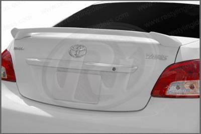 Restyling Ideas - Toyota Yaris Restyling Ideas Custom 2-Post Style Spoiler - 01-TOYA07C42P