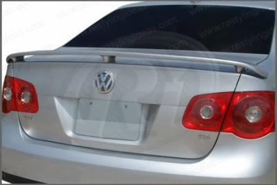 Restyling Ideas - Volkswagen Jetta Restyling Ideas Factory 3-Post Style Spoiler - 01-VWJE05F