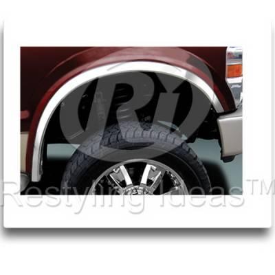 Restyling Ideas - Ford Superduty F250 Restyling Ideas Fender Trim - 02-FO-F25099
