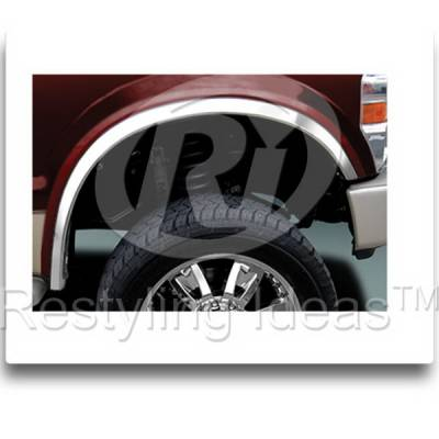 Restyling Ideas - Ford Superduty F350 DRW Restyling Ideas Fender Trim - 02-FO-F25099