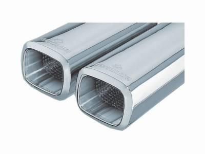 Remus - Audi A8 Remus Romulus Rear Silencer with Dual Exhaust Tips - Square - 049194 0546R