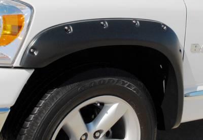 Prestige - Dodge Ram Prestige Front Pair RX Rivet Style Standard Fender Flare Set - RX203SA