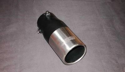 Razzi - Razzi Fake Exhaust Extension Tip Kit - Stainless Steel Double Walled - 140-2SS-0008-150250