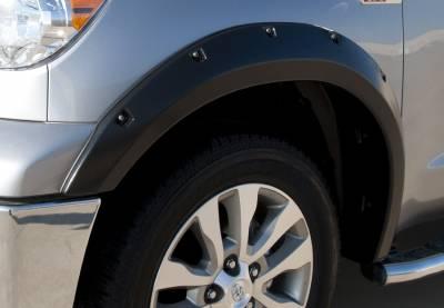 Prestige - Toyota Tundra Prestige Front Pair RX Rivet Style Standard Fender Flare Set - RX602SA