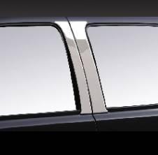 Pilot - Chevrolet Silverado Pilot Polished Stainless Steel Door Pillar - Set - SDP-106