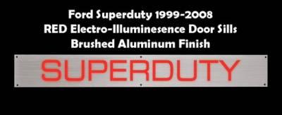 Recon - Ford Superduty Recon EL Illuminated Door Sill Plate - 264121FDRD
