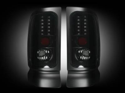 Recon - Dodge Ram Recon LED Taillights - 264170BK