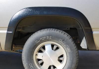 Prestige - Chevrolet Suburban Prestige Rear Pair SX Street Style Textured Fender Flare Set - SX101TB