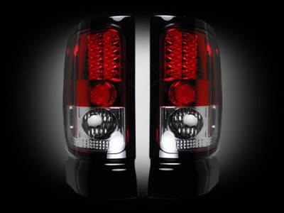 Recon - Dodge Ram Recon LED Taillights - 264170RD