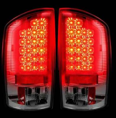 Recon - Recon Clear LED Taillights - 264171CL