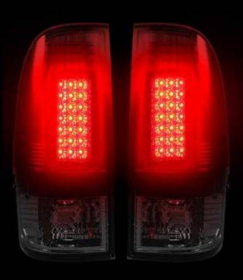 Recon - Recon LED Taillights with Dark Red Smoked Lens - 264172RBK