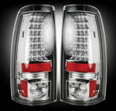 Recon - Chevrolet Silverado Recon LED Taillights - 264173CL