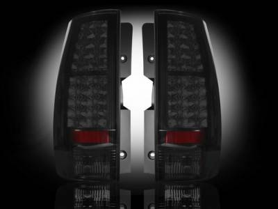 Recon - Chevrolet Suburban Recon LED Taillights - Smoked Lens - 264174BK