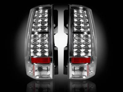 Recon - GMC Denali Recon LED Taillights - Clear Lens - 264174CL