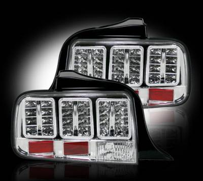 Recon - Ford Mustang Recon LED Taillights - 264187CL