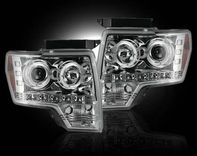 Recon - Ford F150 Recon Projector Headlights - 264190CL