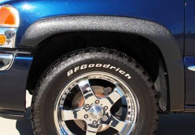 Prestige - Chevrolet Silverado Prestige Front Pair SX Street Style Standard Fender Flare Set - SX103SA