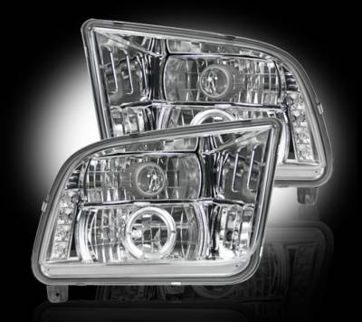 Recon - Ford Mustang Recon Projector Headlights - 264197CL