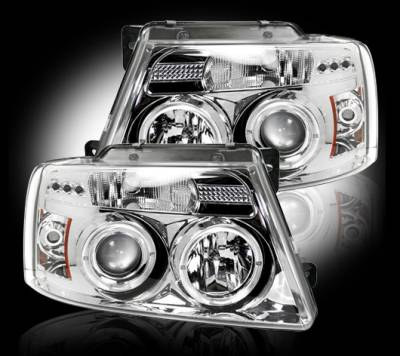 Recon - Ford F150 Recon Projector Headlights - 264198CL