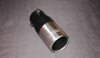 Razzi - Razzi Fake Exhaust Extension Tip Kit - Stainless Steel Double Walled - 299-2SS-0008-150250