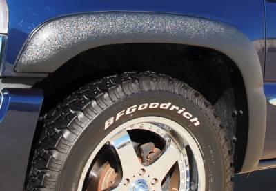 Prestige - Chevrolet Silverado Prestige Front Pair SX Street Style Textured Fender Flare Set - SX103TA