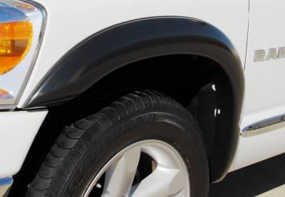 Prestige - Dodge Ram Prestige Front Pair SX Street Style Standard Fender Flare Set - SX203SA