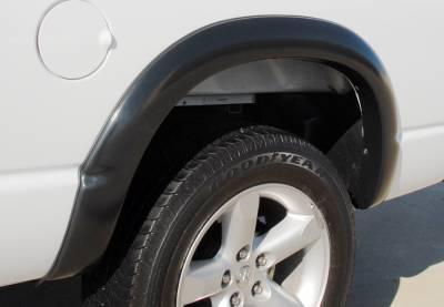 Prestige - Dodge Ram Prestige Rear Pair SX Street Style Standard Fender Flare Set - SX203SB