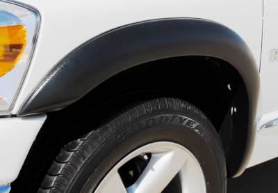 Prestige - Dodge Ram Prestige Rear Pair SX Street Style Textured Fender Flare Set - SX203TB