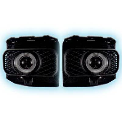 Restyling Ideas - Ford F150 Restyling Ideas Projector Fog Light Kit - 33-FGPR-F15099