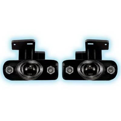 Restyling Ideas - GMC Sierra Restyling Ideas Projector Fog Light Kit - 33-FGPR-SIE99