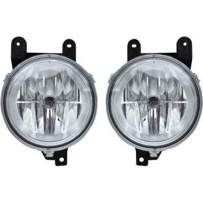 Restyling Ideas - Lincoln Blackwood Restyling Ideas Fog Light Kit - 33-LINAV-98FC