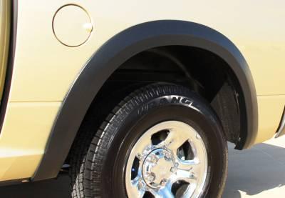 Prestige - Dodge Ram Prestige Rear Pair SX Street Style Standard Fender Flare Set - SX204SB