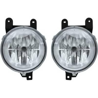 Restyling Ideas - Lincoln Navigator Restyling Ideas Fog Light Kit - 33-LINAV-98FC
